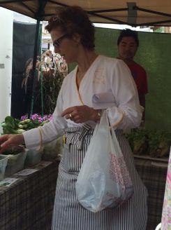 Chef Jody Adams of Rialto takes us through the Charles Square Farmers Market