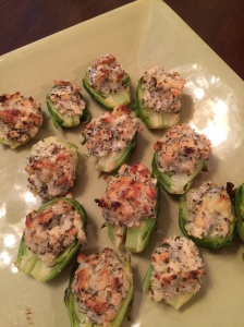 Stuffed Brussels sprouts