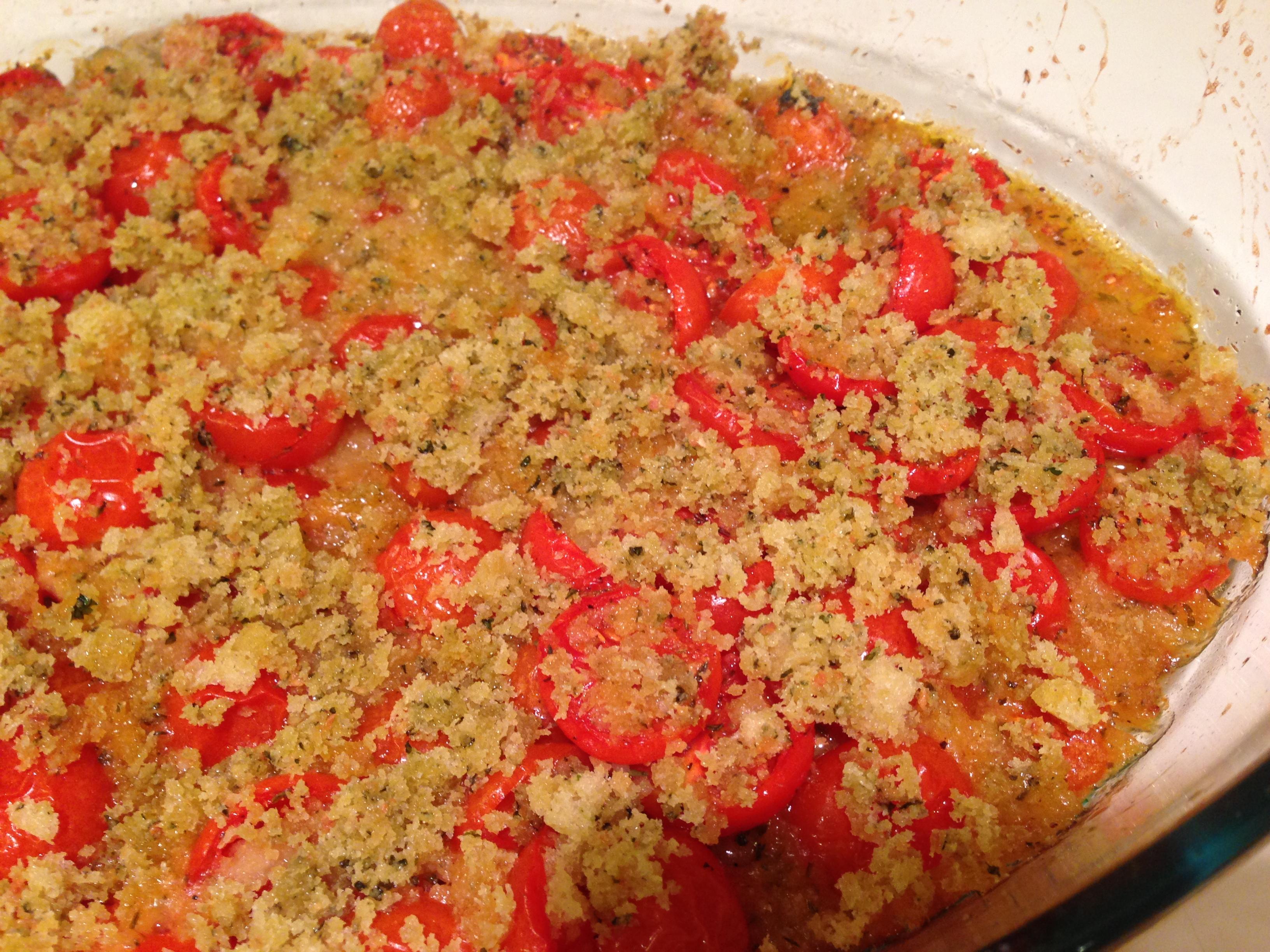 Provencal cherry tomato gratin – the little gourmet