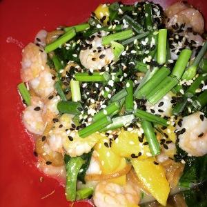 Drunk-Ass shrimp noodles