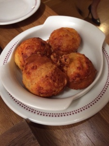 Gougères with gruyere cheese