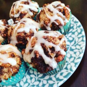 Cinnamon roll muffins_2